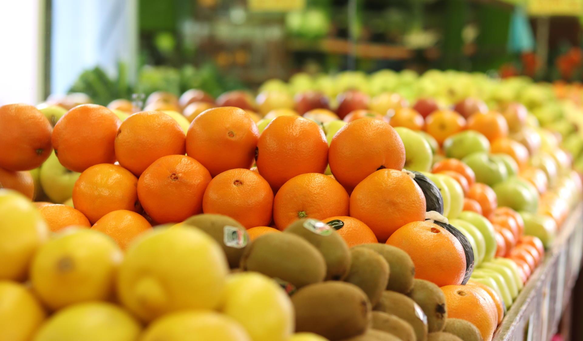 Fruta y verdura fresca y de calidad