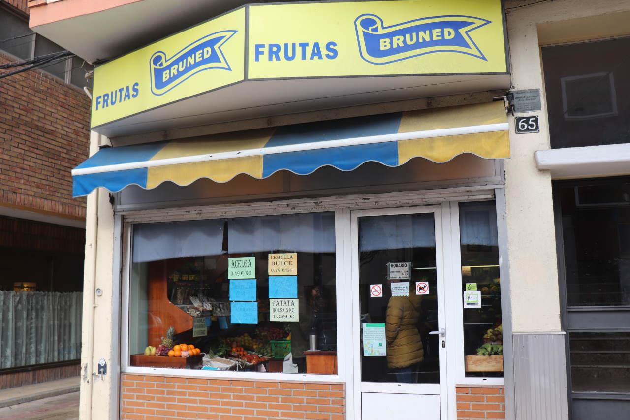 Tienda de Frutas Bruned en Calle Serrablo, 65, Sabiñánigo (Huesca)